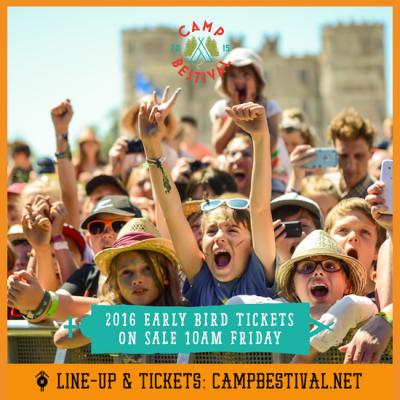 2016 early bird tickets go on sale Friday! Image
