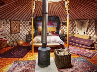 Sopley Lake Yurt Camp Image