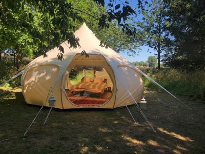GIlcombe Farm Glamping Image