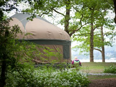 Long Valley Yurts Low Wray on Windermere Image