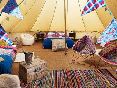 Sopley Lake Bell Tent Camp Image