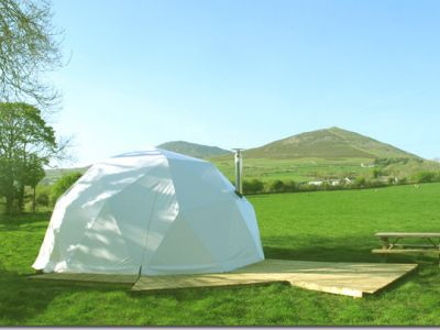 Away From It All Glamping in Wales Image